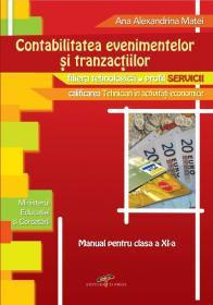 Contabilitatea evenimentelor si tranzactiilor. Manual pentru clasa a XI-a