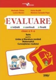 Evaluare - Teste romana, matematica si cunoasterea mediului clasa a II-a (Penes)