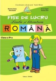 Fise lucru limba si literatura romana. Clasa a IV-a (Penes)