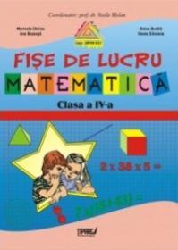 Fise lucru matematica clasa a IV-a