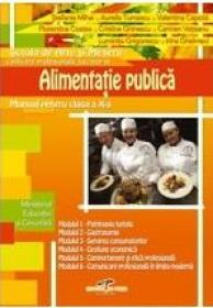 Lucrator in alimentatie publica - manual pt clasa a X-a