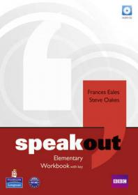 Speakout Elementary Level Workbook with Key+CD
