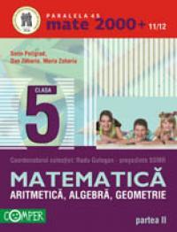 ARITMETICA, ALGEBRA, GEOMETRIE, CLASA A V-A, PARTEA II