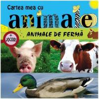 Cartea mea cu animale de ferma + jocuri