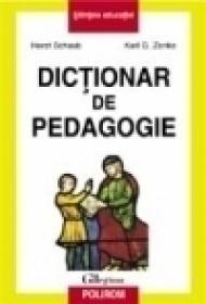 Dictionar de pedagogie