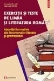Exercitii si teste de limba si literatura romana