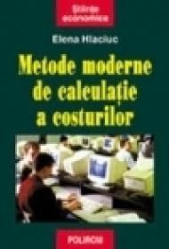 Metode moderne de calculatie a costurilor