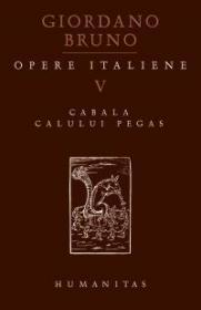 Opere italiene V. Cabala calului Pegas
