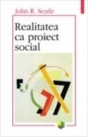 Realitatea ca proiect social