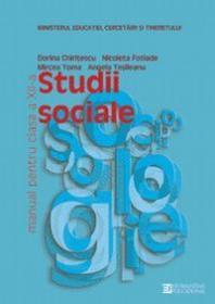 Studii sociale. Manual. Clasa a XII a