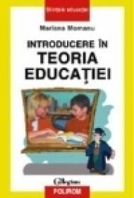 Introducere in teoria educatiei