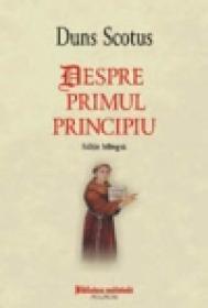 Despre primul principiu