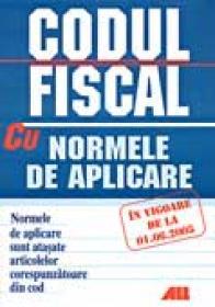 Codul Fiscal Al Romaniei <br />cu Norme De Aplicare