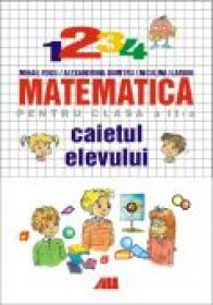 Matematica Pentru Clasa A Ii-a. Caietul Elevului