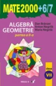 Algebra, Geometrie. Clasa A Vii-a. Partea A Ii-a