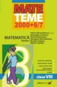 Matematica. Clasa A Viii-a. Partea I